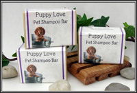 Puppy Love Natural Pet Shampoo Bar