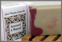 Rosewood & Rhassoul Soap